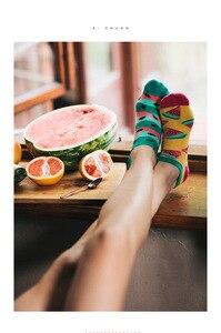 الربيع التباين Ab مضحك لطيف المرأة القطن كوتون الجوارب المتناثرة Kawaii الإناث الجوارب اللون الأزياء الديناميكي شعبية المد العلامة التجارية