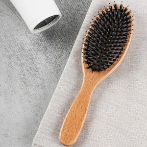 Image 5 - Bristle Brush Prevent Hair Loss Comb Mi Home Portable Care Beauty Anion Hair Care Scalp Massage Anti static Comb Tool