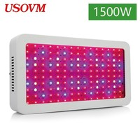 1500W High Power LED Full Spectrum Grow Light For Plants Lamp Dual Chip Growing Seedlings Culture Indoor Flowers Tent Gardening