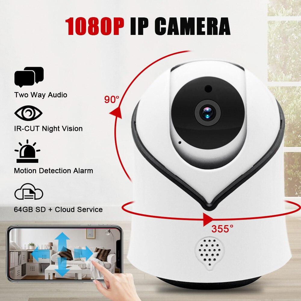HD 1080P Home Security IP Camera Two Way Audio Wireless Mini Camera Night Vision CCTV WiFi Camera Baby Monitor Alarm ICsee