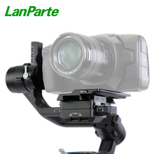 Lanparte BMPCC-4K cine camera offset plate for DJI Ronin S Gimbal accessories цена и фото