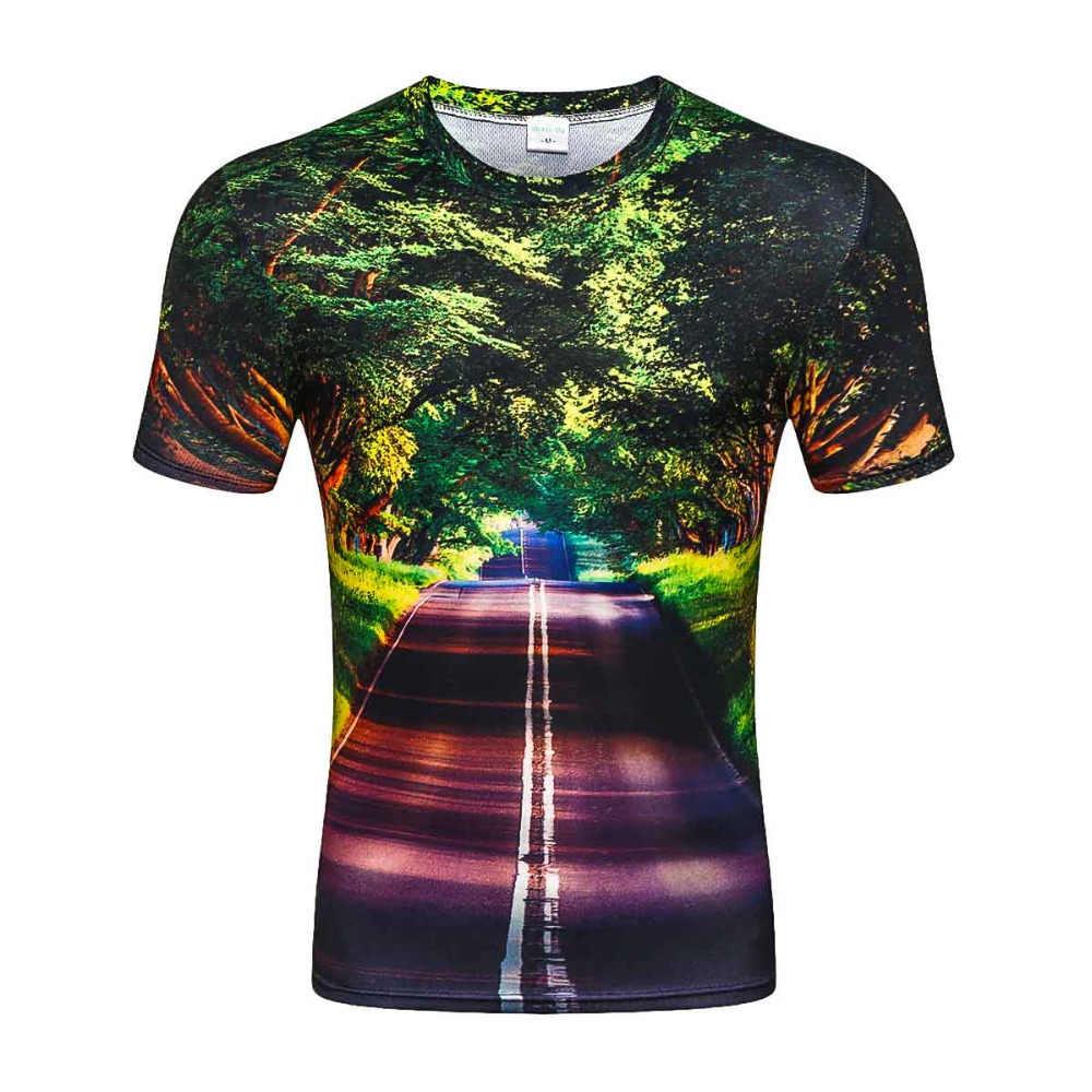 Лето 2019 г. Новый Аниме Прохладный 3D принт для мужчин футболка мир среди миров народная повседневное забавные короткие футболки