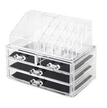 Transparent Acrylic Cosmetics Organizer