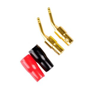 Image 4 - 10 Pair 2mm Banana Plug Pin Screw Type, Audio Speaker Cable Connector Copper Gold Plated