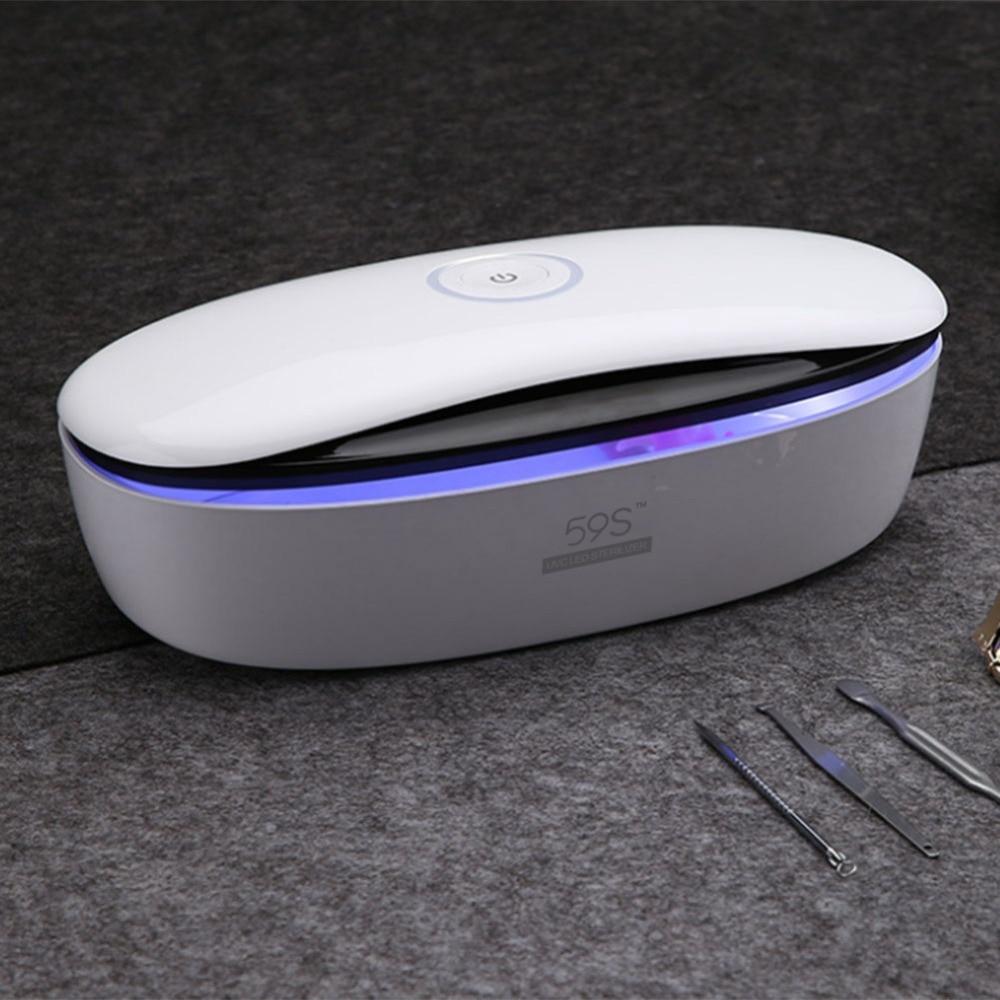 59s LED Dry Temperature Sterilizer Vet Tattoo Dental Autoclave Manicuretool sterilizer For Nails Pedicure Salon Adapter