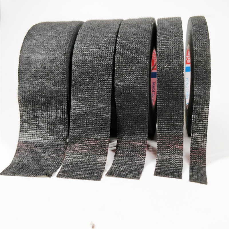 Image 2 - New Tesa Type Coroplast Adhesive Cloth Tape For Cable Harness Wiring Loom  Width 9/15/19/25/32MM Length15M-in Tape from Home Improvement