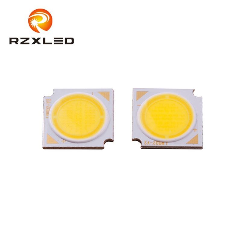 12w cob natrual branco quente tamanho do chip 1414mm 9v 36 30 21v v v 05