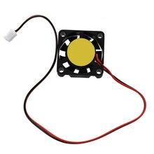 Втулка подшипника мини вентилятор охлаждения 25 мм x 25 мм x 7 мм DC 12 В 2Pin 12000 об./мин втулка подшипника мини вентилятор охлаждения