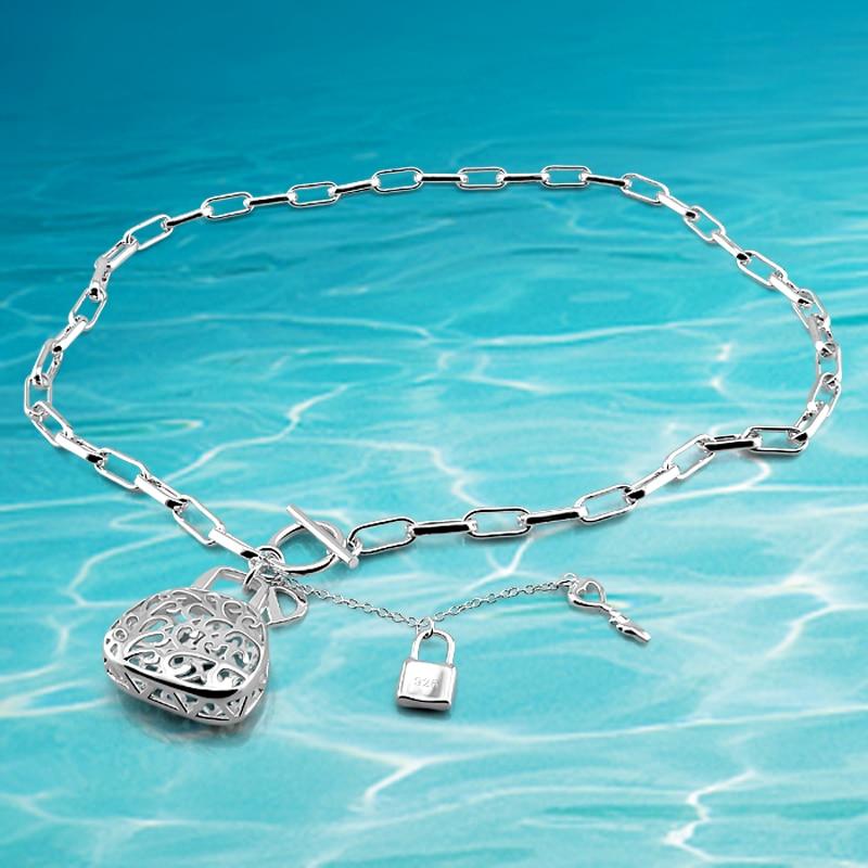 Módní doplňky 925 šperky, 925 stříbrné náhrdelníky pro - Šperky