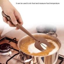 Nieuwe Digitale Koken Koffie Melk Voedsel Thermometer Schraper Lange Probe Digitale Bbq Vlees Thermometer Bakken Tool