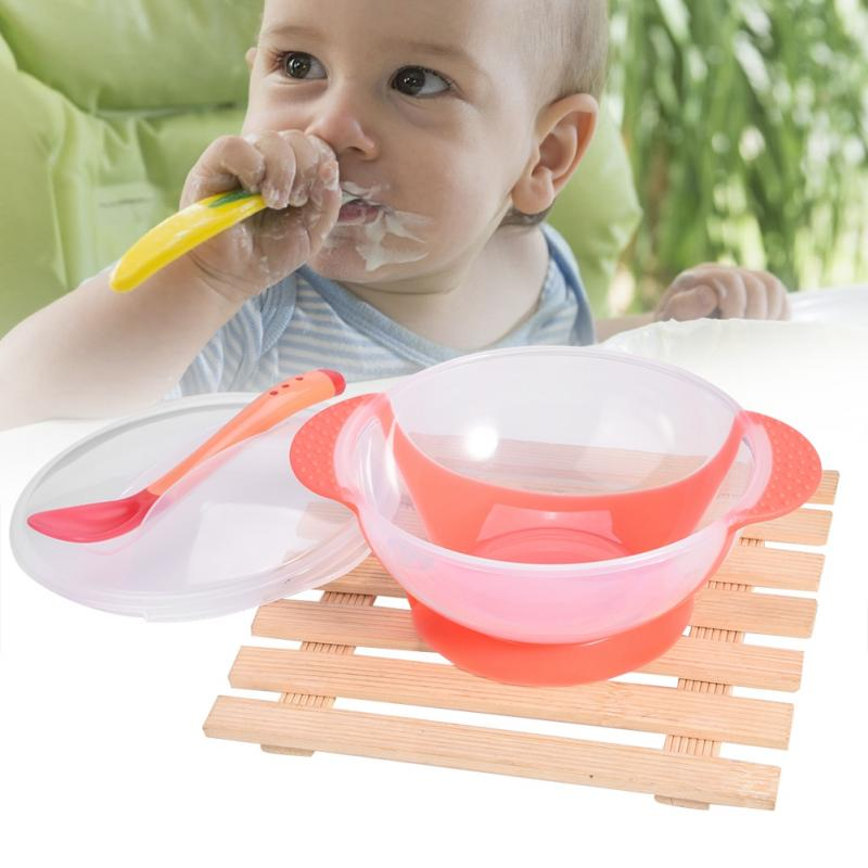 Baby Bowl Slip Resistant Tableware Set Infants Feeding