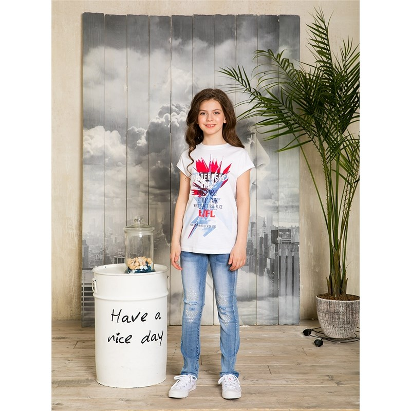 Jeans Sweet Berry Denim pants for girlss children clothing kid clothes [available with 10 11] denim pants for girls