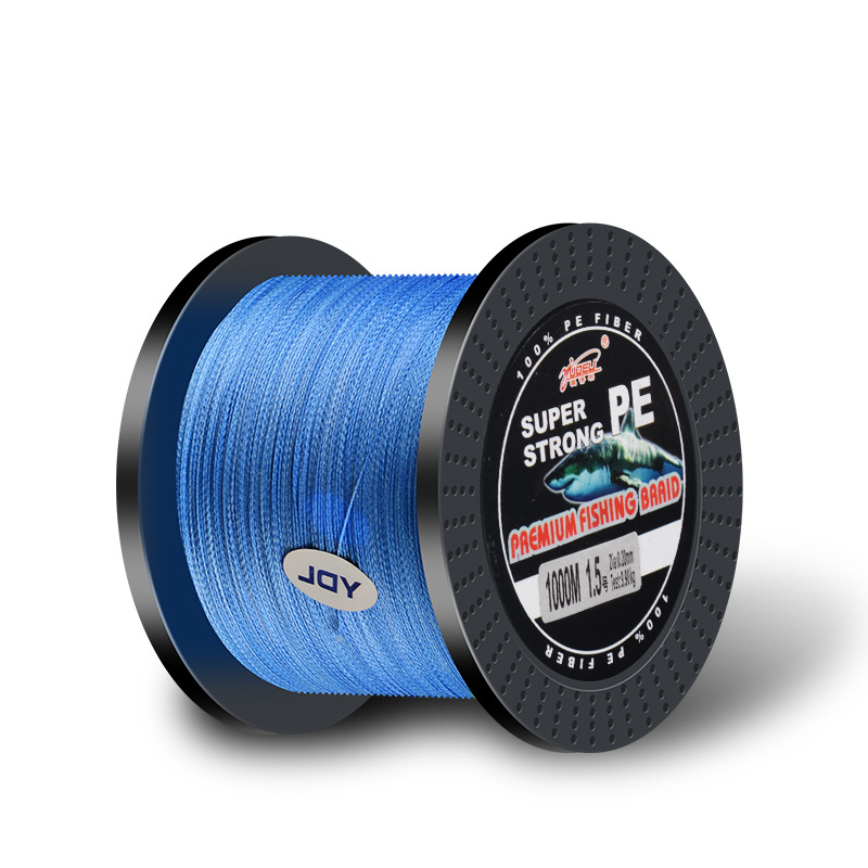 1000 M 4 Series dyneema Line PE Braided Fishing Line String Cross Border Explosion Models in Fishing Lines from Sports Entertainment