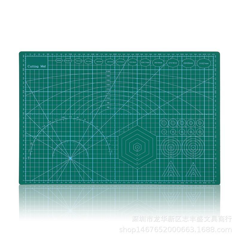 A3/A4 PVC Self Healing Esteira do Corte De Papel Tecido de Couro Artesanato DIY Ferramentas Double-Sided Placa De Corte Cura