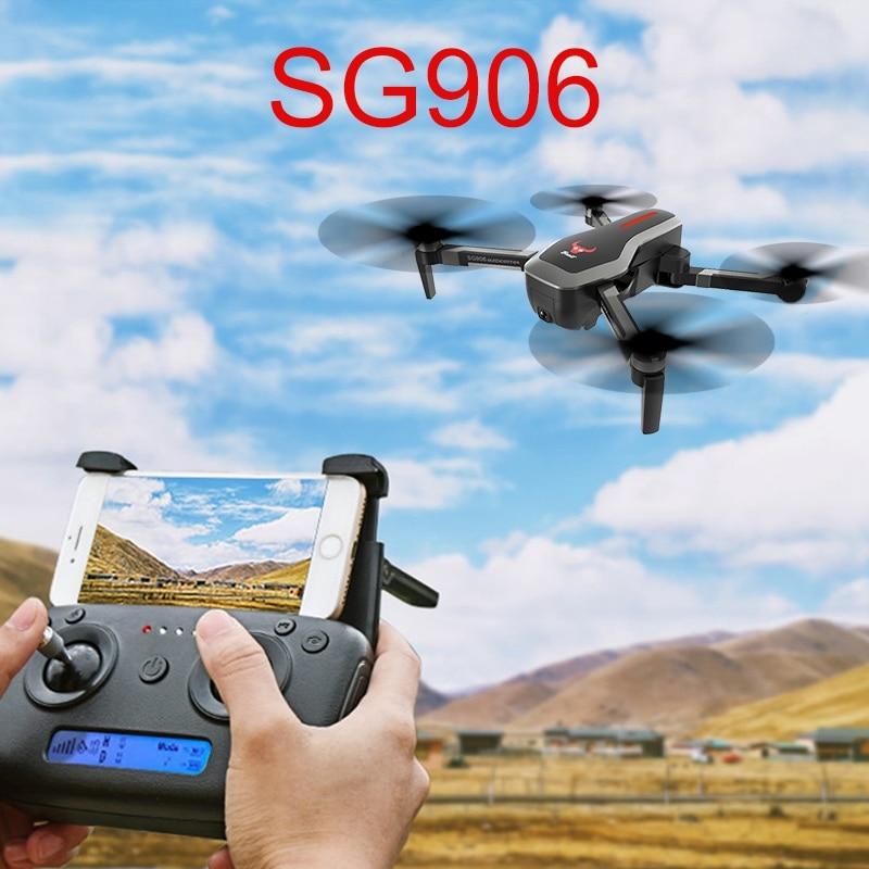 SG906 GPS 5G WIFI FPV Mit Selfie Faltbare 4K 1080P Ultra HD Kamera RC Drone Quadcopter RTF faltbare Eders VS XS809S XS816 SG106