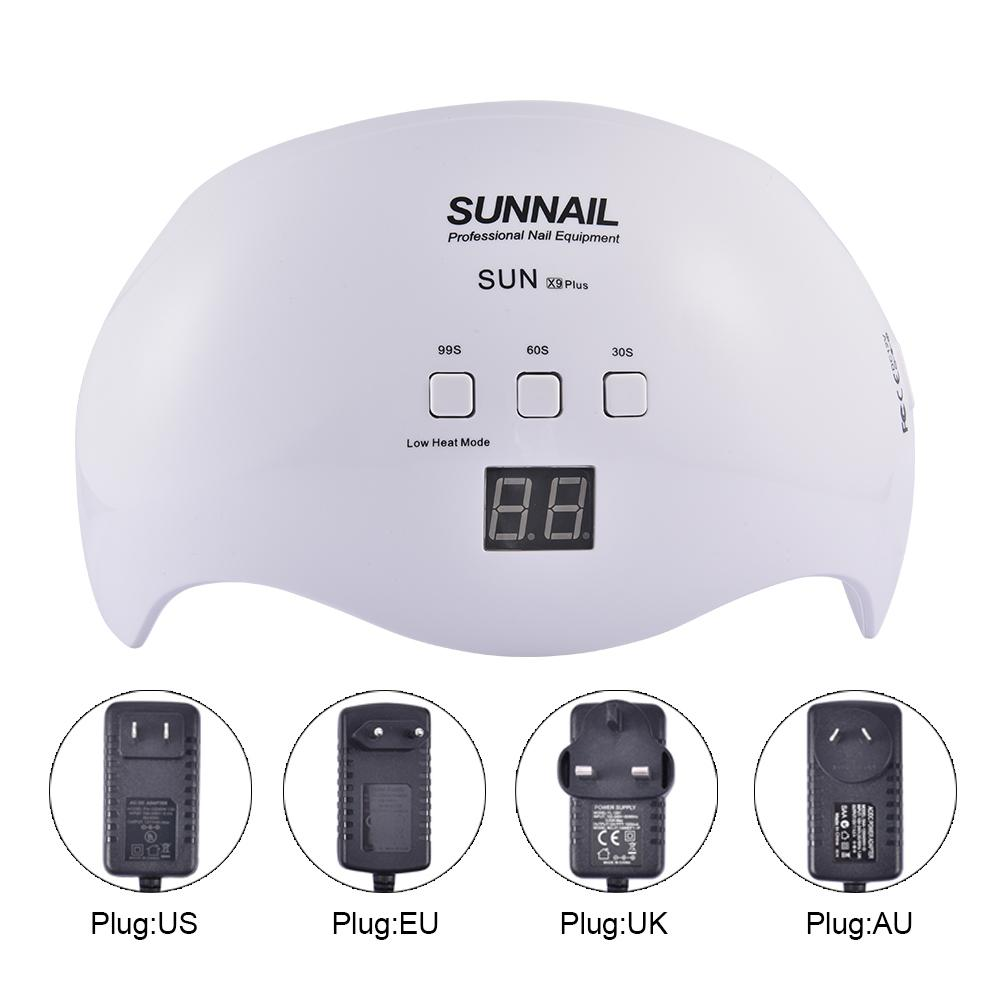 48W LED Nail Dryer UV Curing Professionally For All Gel Nails Toe Nail Auto On Off Sensor Upgraded with 3 Timer 21pcs led light in Nail Dryers from Beauty Health