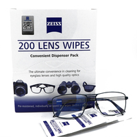 Zeiss Cleaning Glasses Eyeglasses Cloth Economy Sunglasses Screen Microfiber screen laptop computer cleaner 200 counts