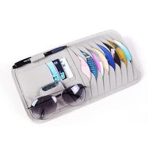 CAR-partment Universal 2colors 12 Disk CD DVD Auto Car Sun Visor Holder Storage Organizer Case Styling Accessories
