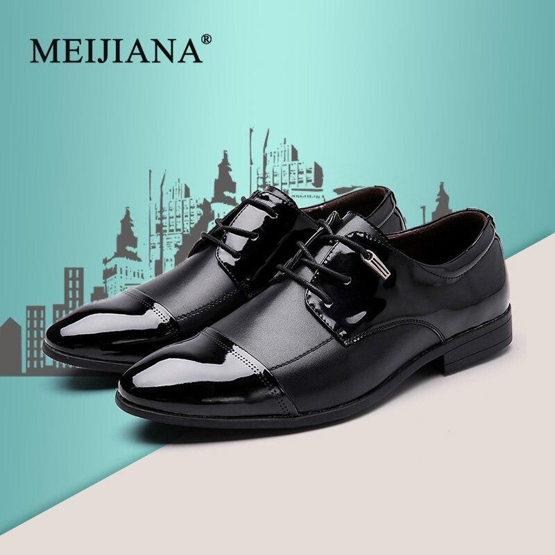 StoßFest Und Antimagnetisch Schuhe For Men Quality Falts Men Casual Size Shoes Plus Business 38-47 Leather High Meijiana Men Oxford Men Dress Shoes Shoes New Wasserdicht