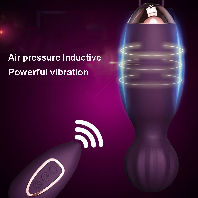 Air Pressure Sensor Vaginal Ball Remote Control Vibrating Egg Clitoral Stimulator Ben Wa Ball Vaginal Tight