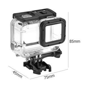 Image 5 - 40 متر تحت الماء مقاوم للماء ل GoPro بطل 7 5 6 أسود عمل كاميرا واقية الإسكان غطاء شل الإطار ل GoPro الإكسسوارات