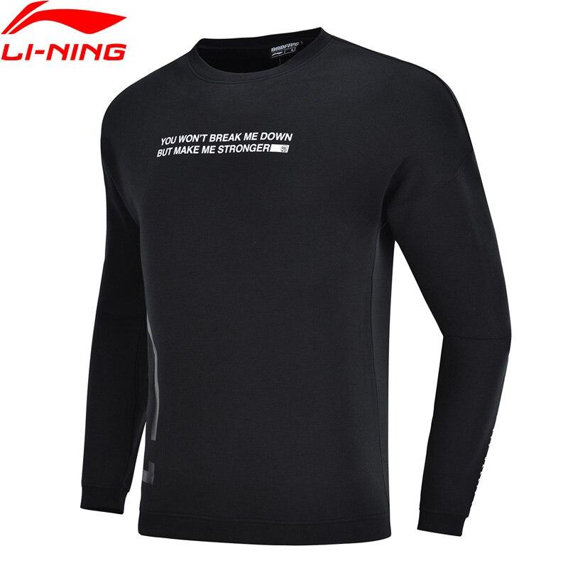 Hemden RüCksichtsvoll Li-ning Männer Basketball Pullover Regelmäßige Fit 66% Baumwolle 34% Polyester Komfort Futter Fitness Sport Hoodie Tops Awdn847 Mww1492