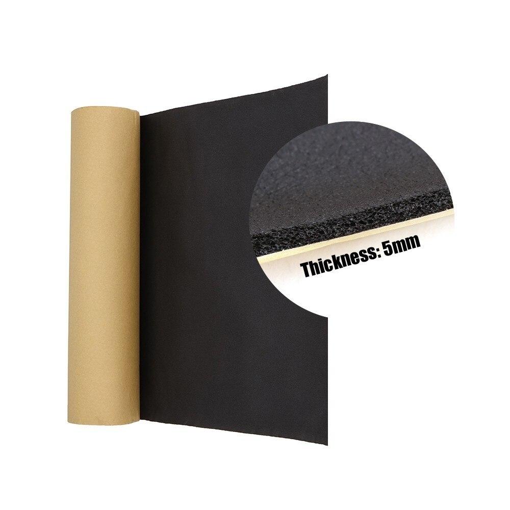 200cm x 50cm carro isolamento acústico anti ruído algodão impermeabilização de amortecimento calor 6mm fechado célula espuma interior acessórios|Algodão de isolamento térmico e acústico| |  - title=