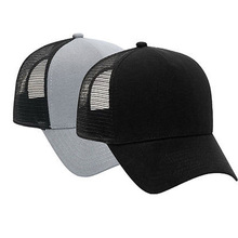 Cotton Flannel Trucker Hat with Adjustable Mesh Back Justin