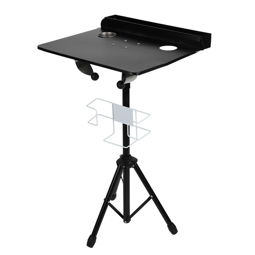 Detachable Tattoo Mobile Work Station Stand Portable Adjustable Tattoo Desk Table