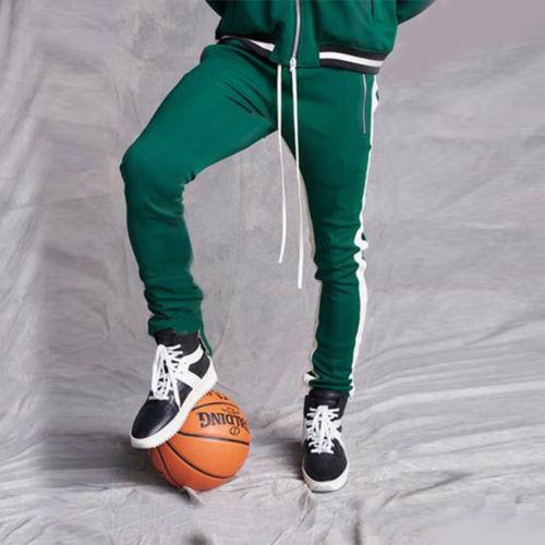 2019 Mens Zipper Pocket Anke Zip Track Pants Long Dawstring Sweatpants Side Striped Patchwork Casual Retro 2019 Mens Zipper Pocket Anke Zip Track Pants Long Dawstring Sweatpants Side Striped Patchwork Casual Retro Trousers Man Pants
