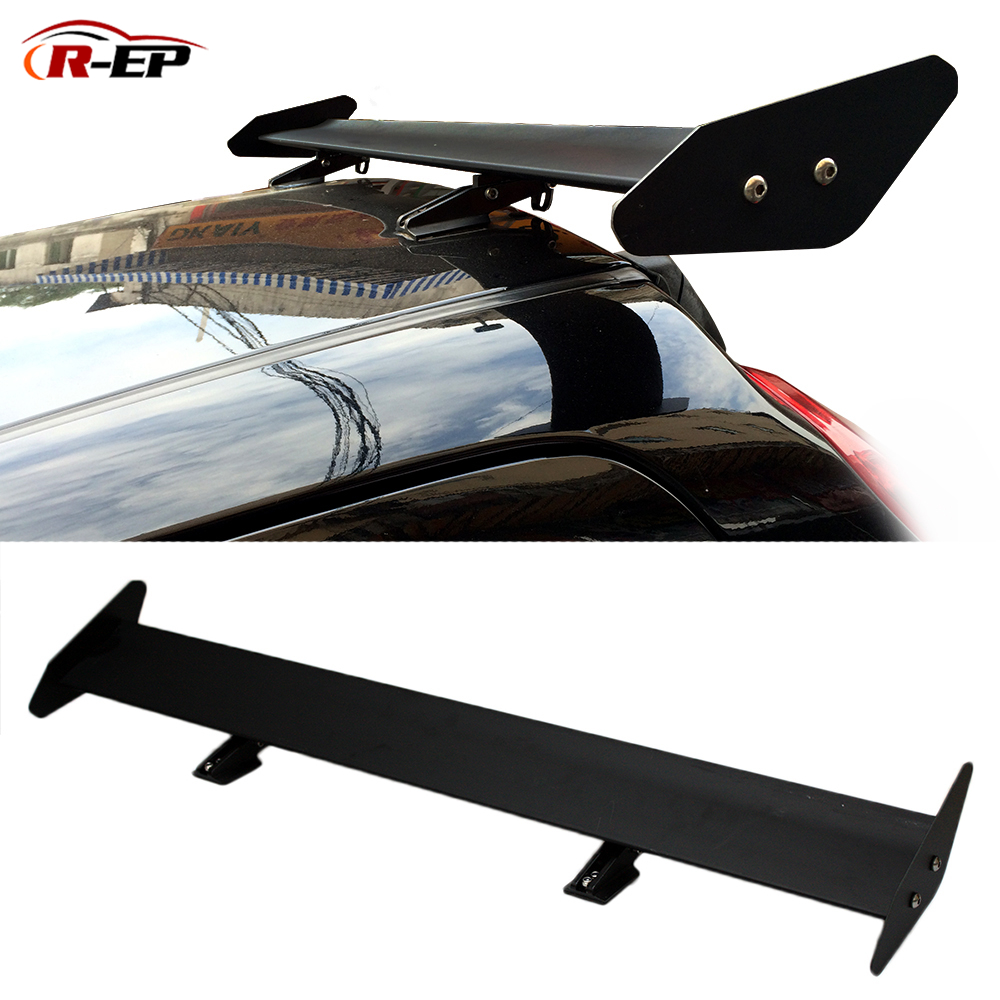 Car Racing Spoiler Universal For Hatchback Auto 105cm GT Aluminum Rear Trunk Wing Spoilers Fit For Suzuki Jimny Hatch-back