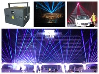 Flightcase+RGB 10W Laser event Show light beam animation laser party stage dj concert party wedding theatre disco club projector