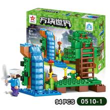 95Pcs DIY Figures City 4 In 1 Building Blocks Bricks Early Educational Enlighten Children Kids Intelligence Creative Toys