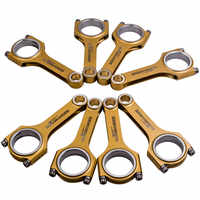 8x Titanizing Connecting Rods For Toyota Tundra Sequoia Crown Majesta 1UR 4.6L / 3UR 5.7L Conrod Balanced Shot Peen TUV