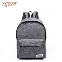 купить Men Casual Canvas Backpacks Student Backpack Bag Small Laptop Bagpack Bags For Male 2019 School Back Pack Schoolbag Backbag по цене 802.51 рублей