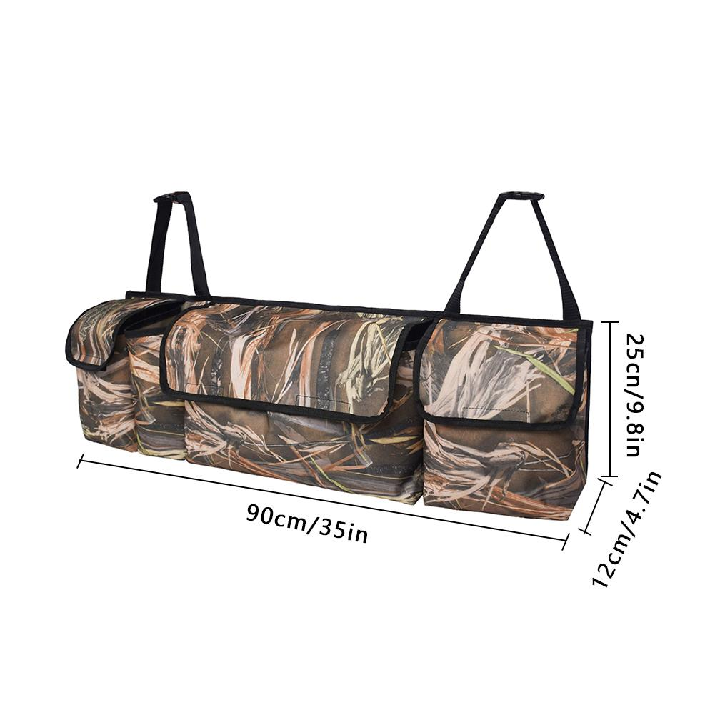 Image 2 - Trunk Backseat Car Organizer Camouflage Large Capacity 600D Oxford Cloth Traveling Car Trunk Storage Bag Auto Accessories-in Stowing Tidying from Automobiles & Motorcycles