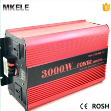 MKP3000-122R high quality dc ac off grid type pure sine wave inverter 12v 220v 3000w power with CE rohs