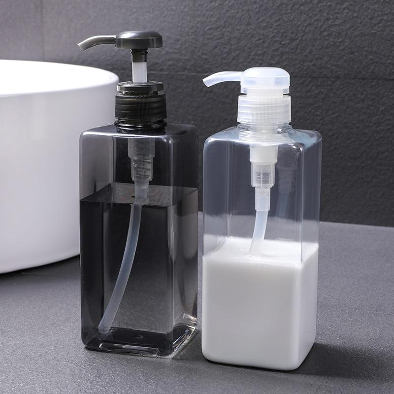 Soild Farbe Seife Dispenser Kosmetik Flaschen Bad Hand Sanitizer Shampoo Körper Waschen Lotion Flasche Leere Flasche Reise Flasche Aromatischer Geschmack Liquid Seifenspender Heimwerker