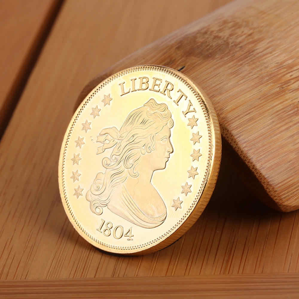 Gilded Bitcoin Coins With Commemorative Value Collecting Bitcoin Art  Collection Gift In Kind Decoration Crafts