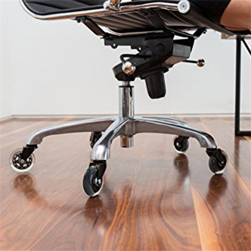 1pc cadeira de escritório rodízio rodas rolo rodízio roda substituição 3 Polegada rodas rodízio borracha giratória rolos móveis ferragem-3