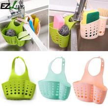 SAE Fortion Portable Basket Kitchen Hanging Drain Basket Bag Bath Storage Tools Sink Holder Kitchen Accessory