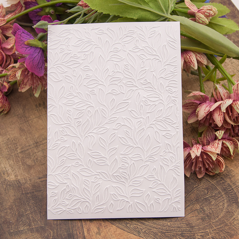 Тисненая бумага для открыток, для