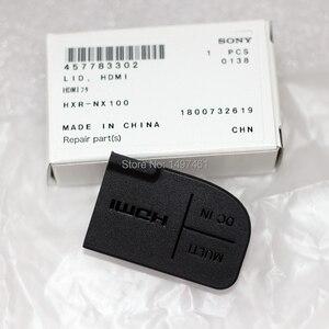"""Image 1 - חדש כוח """"DC ב"""" """"HDMI"""" ו """"רב"""" USB ממשק הגנת מכסה חלקים עבור Sony PXW Z150 HXR NX100 Z150 NX100 למצלמות"""