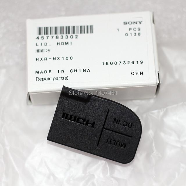 """חדש כוח """"DC ב"""" """"HDMI"""" ו """"רב"""" USB ממשק הגנת מכסה חלקים עבור Sony PXW Z150 HXR NX100 Z150 NX100 למצלמות"""