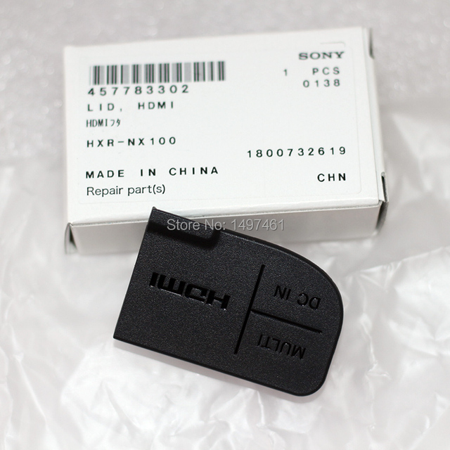 """New Power """"DC IN"""" """"HDMI""""and """"MULTI"""" USB Interface Protection lid parts for Sony PXW Z150 HXR NX100 Z150 NX100 Camcorder"""