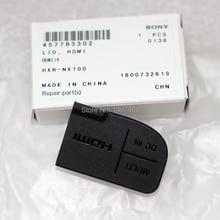 Piezas de tapa de protección de interfaz USB para videocámara Sony PXW Z150, HXR NX100, Z150, NX100
