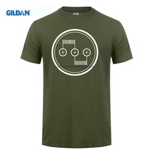 GILDAN Dual Coil RDA Mod Vaporizer Vape Vaping Vaper ali t shirts black Quality cloth Hip Short Sleeve