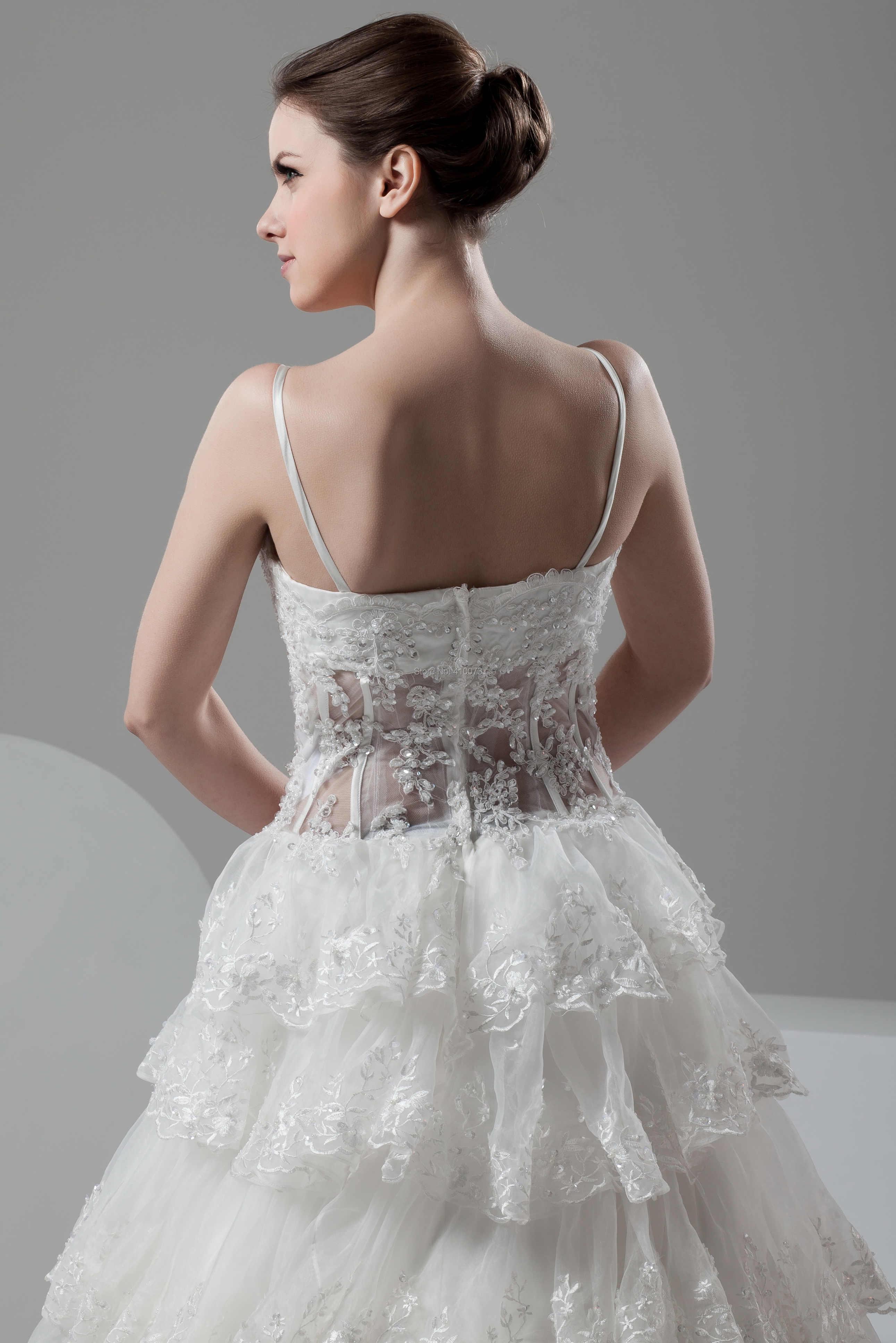 Eren Jossie Последняя Мода Королевская королева сад шикарное свадебное платье с бисерные Аппликации 100% Высокое качество