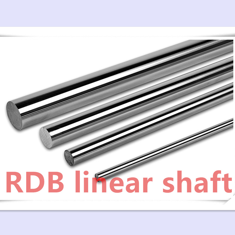 6 pcs 10mm linear shaft 600mm 10 600mm harden chrome plated linear rail CNC parts round