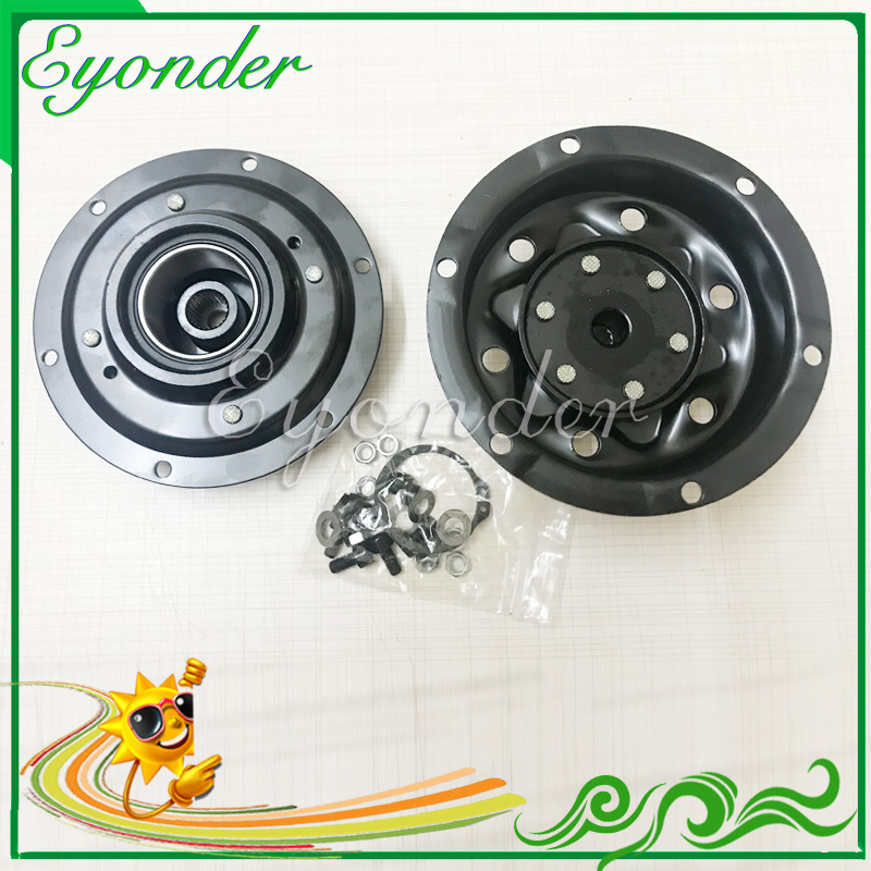AC A C Compressor Pump Electromagnetic Clutch Assembly Pulley for Volkswagen MULTIVAN V TRANSPORTER T5 CARAVELLE